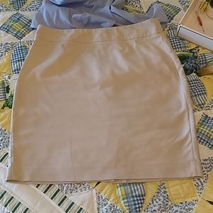 Banana Republic, classic tan skirt